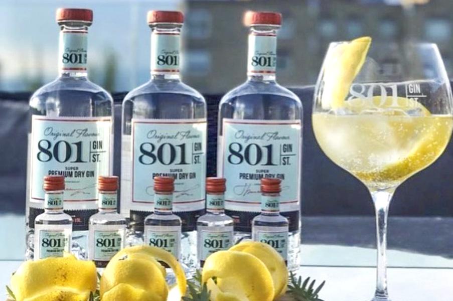 801 GIN ST - Bottling